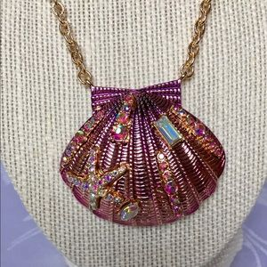 Betsey Johnson Large Shell Necklace